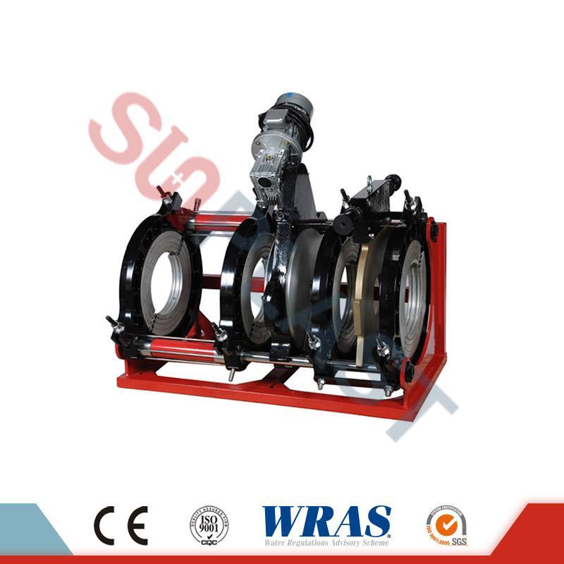 Máquina de soldadura hidráulica da fusão da extremidade de 280-450mm para a tubulação do HDPE